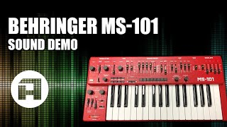 Behringer MS-101 Sound Demo