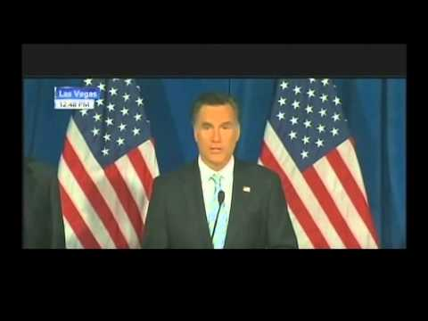 Romney praising Trump (67sec vid) He used to have higher energy