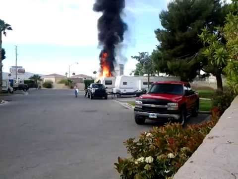 Sam S Town Rv Park Fire Wednesday April 16 2014 7 45 Am