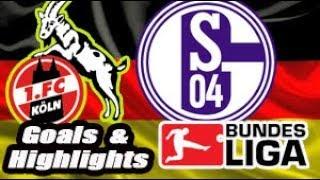 Colônia vs Schalke 04 - 2017-18 Bundesliga Highlights