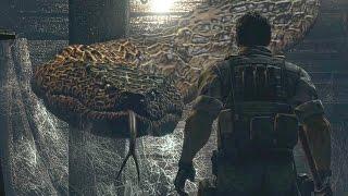 Resident Evil HD Remaster: All Bosses (4K 60fps)