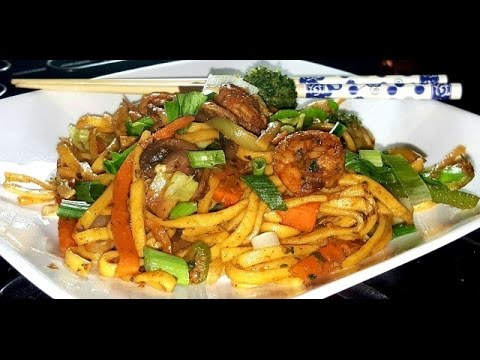 how to cook chinese lo mein