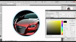 Tutorial logo o imagen dentro de un circulo - PhotoShop CS5