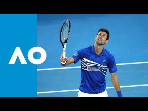Novak Djokovic v Lucas Pouille match highlights (SF) | Australian Open 2019