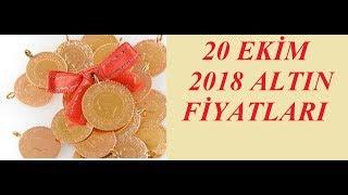 20,10,2018 Altın Fiyatları Dolar Fiyatları Euro Ne Kadar Sterlin Kaç Lira