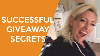 What you are dreading to hear about giveaways