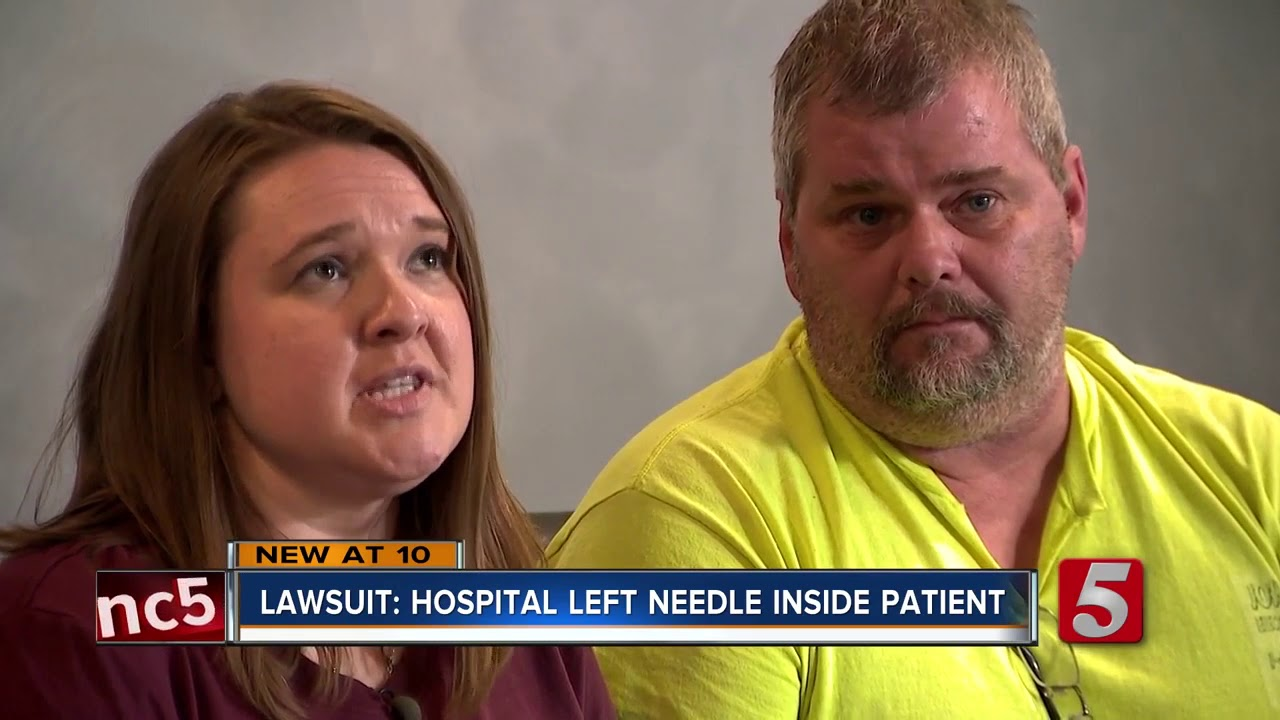 Lawsuit: Surgeon left needle inside patient, who later died