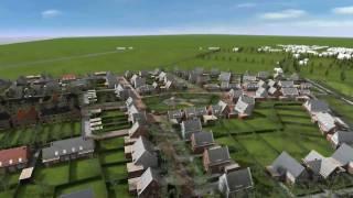 Virtuele Maquette Veerhaven Kruiningen