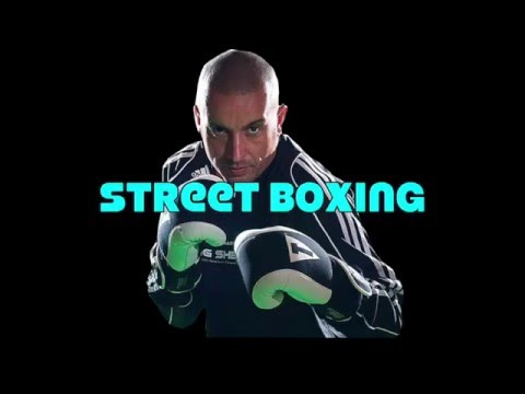 Street Boxing - Footwork for Self Defense (Part 1) Swing Step & Bump