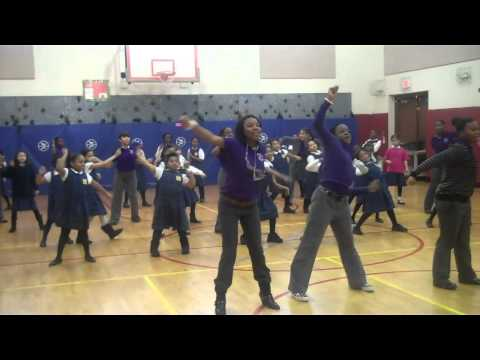 Albany Leadership Dancers Volunteering at Brighter Choice Charter School for Girls