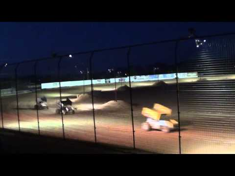 El Paso Speedway Park ASCS Sprints heat race 1