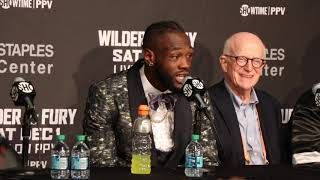 'HOW DID HE GET UP?' - DEONTAY WILDER'S IMMEDIATE REACTION TO DRAW WITH TYSON FURY / WILDER-FURY