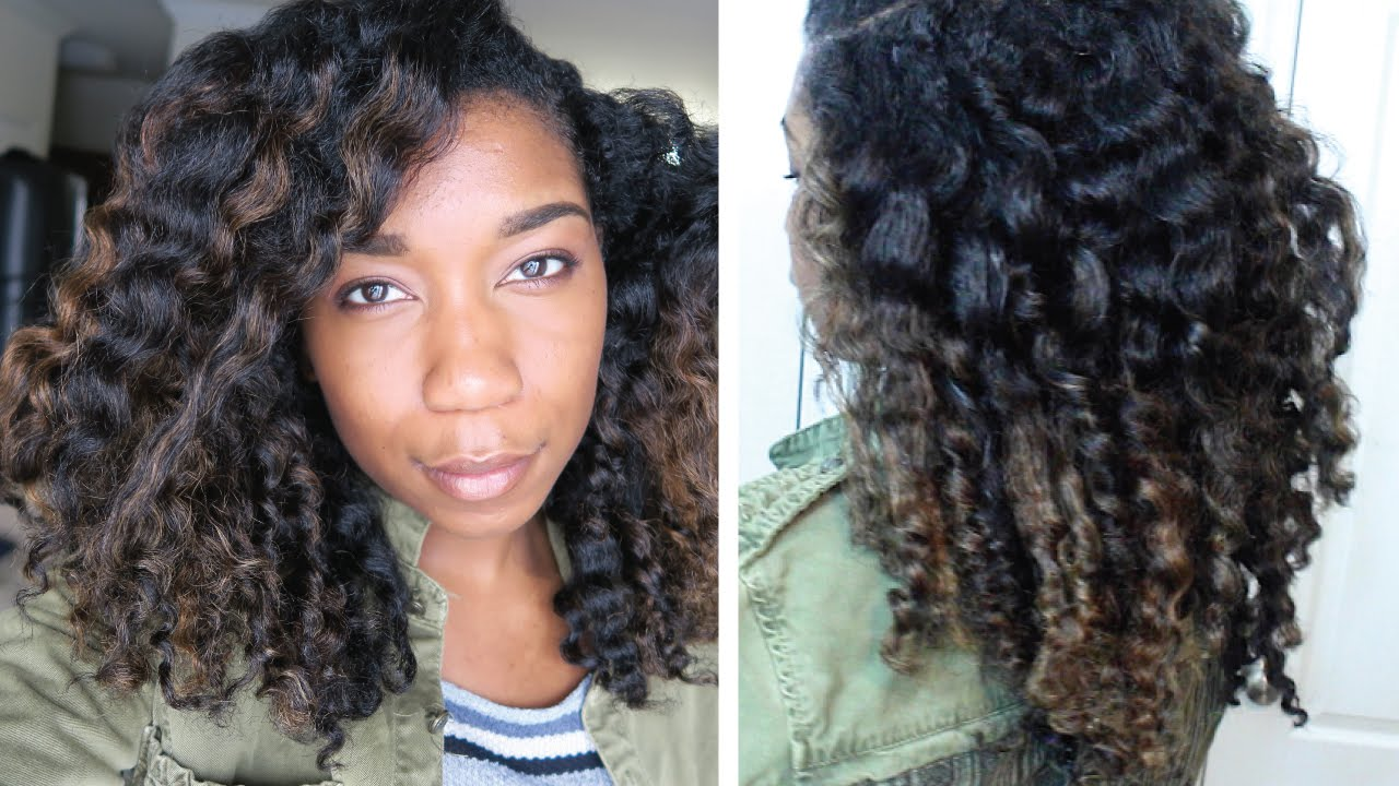 Twist Out For Moisturized Colored Natural Hair Highlights Transitioning Damaged