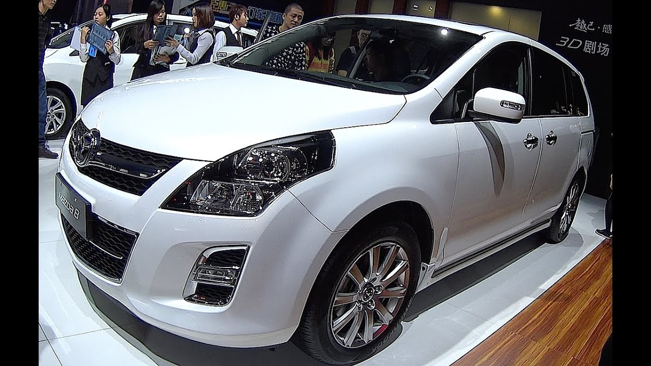 New Mazda 8 Van 2016 2017 Video Interior Exterior