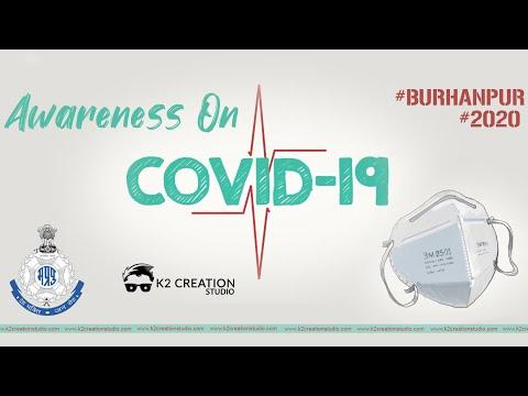 Awareness On Covid-19 | Burhanpur Police | K2creationstudio | 2020