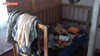 Мать 2 года держала ребенка в загоне с козами.mp4