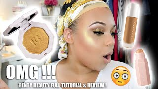 IS FENTY BEAUTY ACTUALLY WORTH THE HYPE !? FULL TUTORIAL & REVIEW