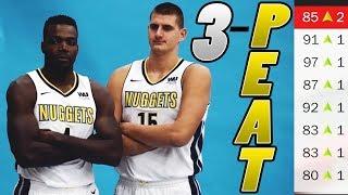 70+ WIN SEASON! DENVER NUGGETS REBUILD! NBA 2K18