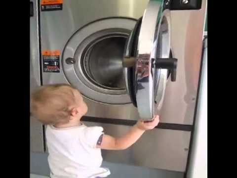 How to - Open and Close Dexter Washing Machines