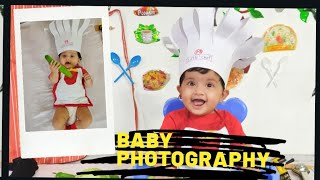 Creative Baby Photography at Home | 7 Monthly Birthday Photoshoot | DIY | Photoshoot Vlog