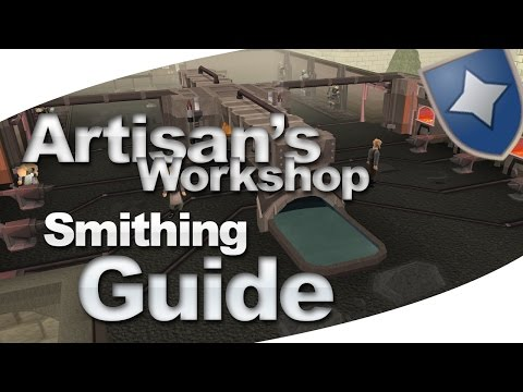 Runescape 3 - Artisian's Workshop Smithing Guide