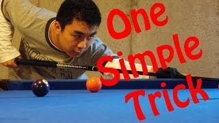 Instantly become a better pool player!! one simple trick!
