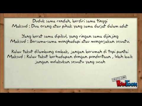 Peribahasa Tahun 5 Bahasa Malaysiajoshua Loh Yixun Youtube