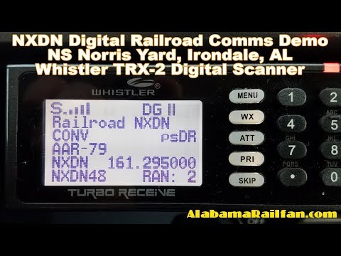 NXDN Digital Railroad Comms Demo - NS Norris Yard, Irondale,