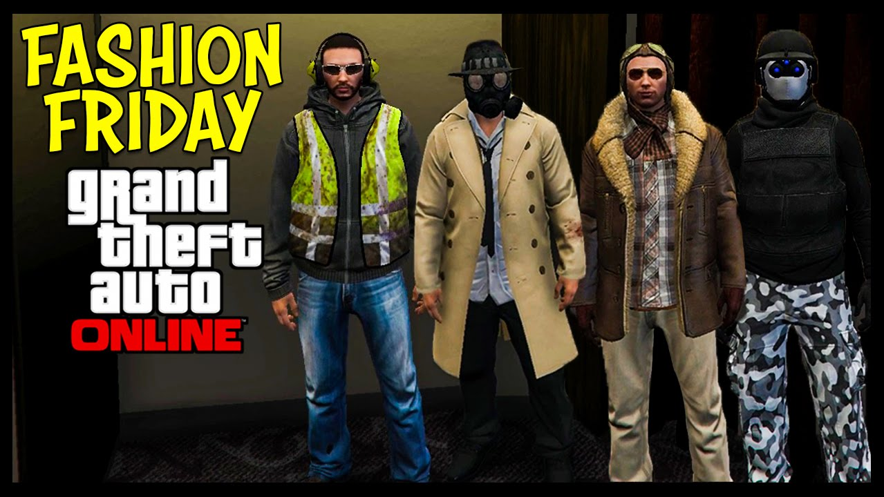 GTA 5 Online FASHION FRIDAY! (Apocalyptic Investigator Lone Ranger Veteran Pilot u0026 MORE) - YouTube