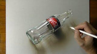 Drawing Coca Cola Zero - 3D Art