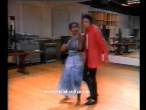 Michael jackson rehearsing black or white 1991