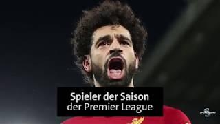 Mohamed Salah ist Spieler des Jahres Auszeichnungen und Rekorde ohne Ende