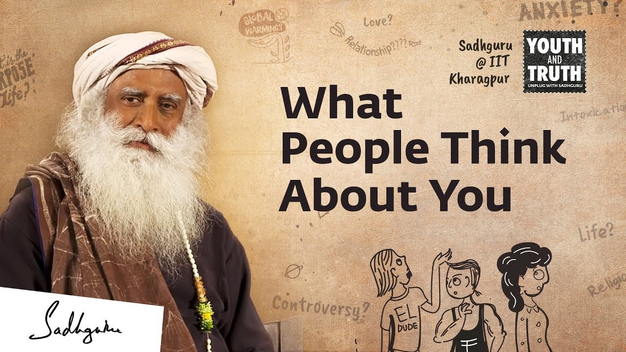 Overcome The Fear of Being Judged – Spiritual Talks by Sadhguru