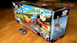 Thomas and Friends Sky High Bridge Jump Trackmaster Motorized New  Giant  Play Set