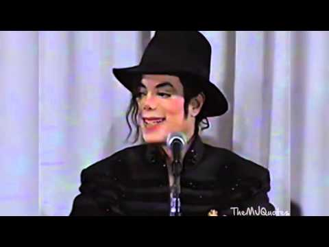 Michael Jackson - Messing around with the Paparazzi - Press Conference Japan 1997 Enhanced HD