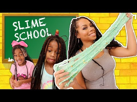 Slime School Homework FAIL !!! New Toy School