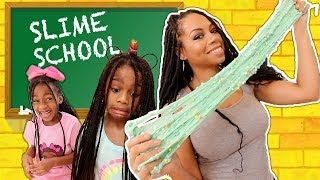 Slime School Homework FAIL !!! New Toy School
