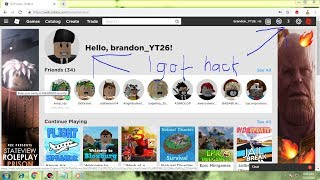 How to Hack a Acc In roblox 2019 (Real)