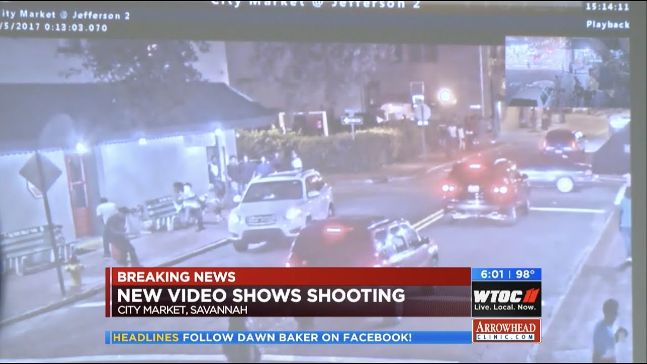 4th of July Downtown Shooting, Deadly Crash (WTOC-TV's 6pm Newscast)