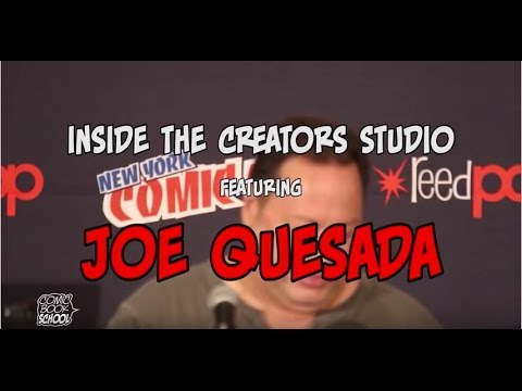 Inside the Creators Workshop with Joe Quesada & Buddy Scalera