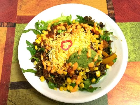 Mexican Burrito Bowl Video Recipe
