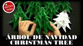 Árbol De Navidad / Christmas Tree Origami