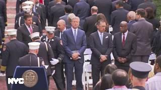 Mayor de Blasio Delivers Remarks at FDNY Memorial Day Ceremony