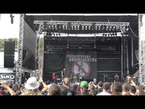 Excrementory Grindfuckers @ Brutal Assault 2011