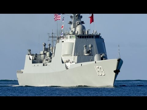 Chinese Warships Arrive at Pearl Harbor