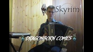 The Dragonborn Comes (Баян+Гитара).