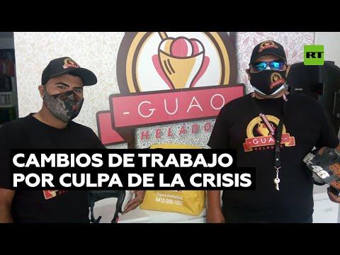 La crisis provoca cambios radicales de trabajo en Venezuela
