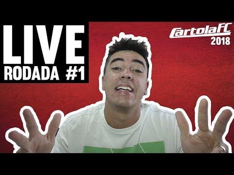 LIVE CARTOLA FC - RODADA 1 - VEM CARTOLA FC - INFOS E TIME