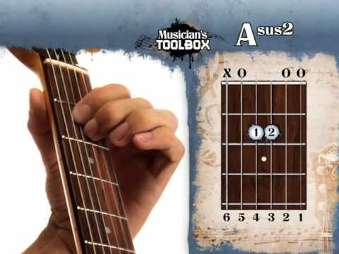 How To Play The A Sus 2 Chord On Guitar Asus2 Youtube