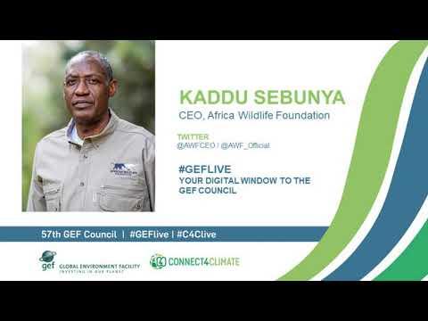 Kaddu Sebunya at GEF Live - Your digital window to the 57th Council
